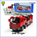 Mr.Froger Ladder Fire Engine Modle alloy car model Refined metal Fire vehicles truck Decoration Classic Toys KDW Fire Rescue