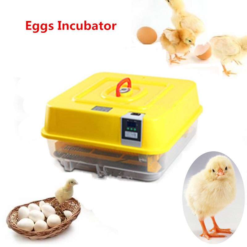 Chicken Eggs Incubator Industrial for Chicken Automatic Hatching Machine with Temperature Control Poultry Brooder household mini small eggs incubator auto hatchers poultry hatching machine equipment tool electric chicken brooder