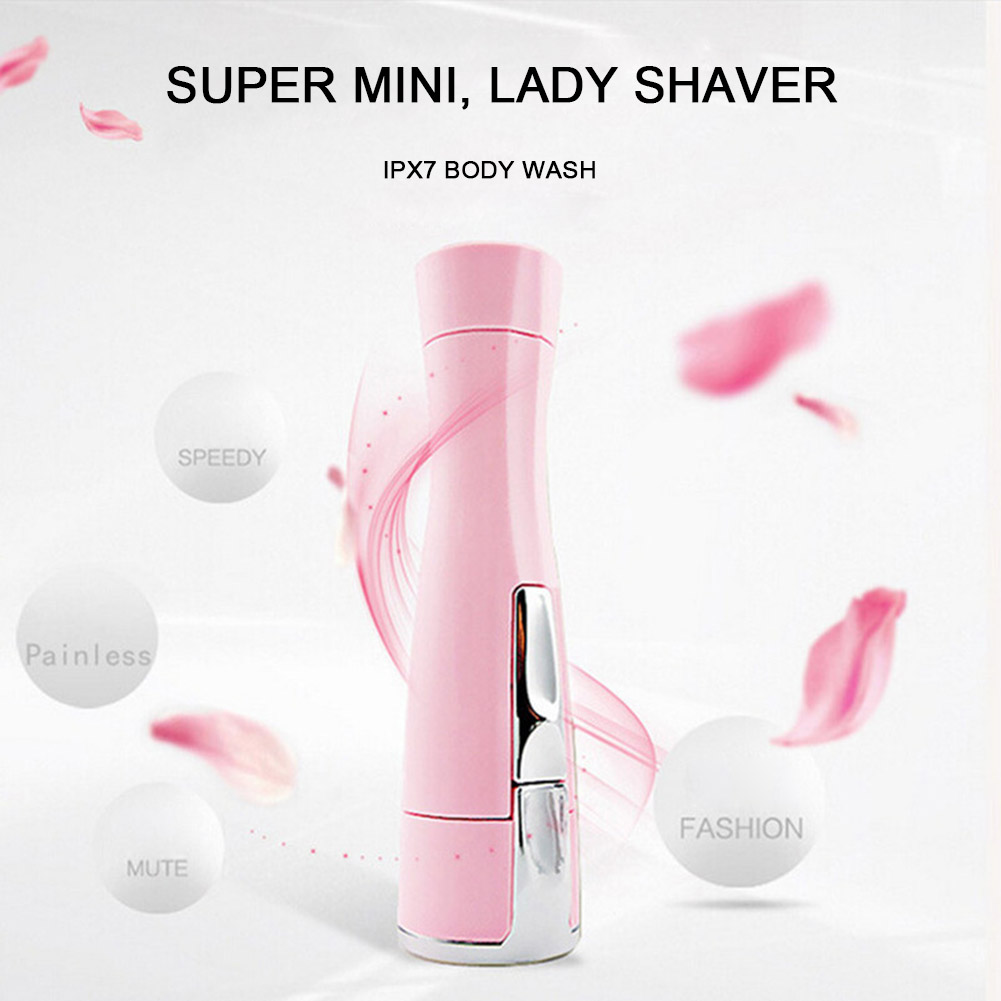 High Quality Electric Painless Epilator Shaving Facial Shaver Hair Trimmer Remover Mini Women Body Removal Razor