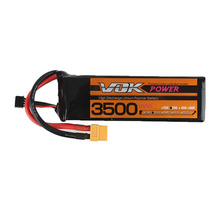 Mini Portable VOK 3S Lipo Battery 11.1V 35C 3500mAh XT60 Discharge Plug for RC Racing Quadcopter Drone NEW