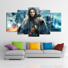 Game of Thrones Themed Wall Canvas Painting 5 pcs Set