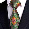 Floral azul marinho vermelho azul amarelo verde orange mens gravatas gravatas 100% seda tecido jacquard moda frete grátis por atacado