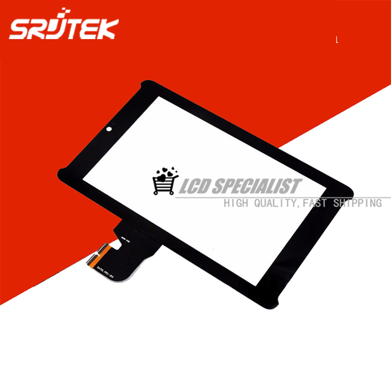 NEW 7 Inch Black Touch Screen Digitizer For Asus Fonepad 7 ME372CG ME372 K00F 5470L FPC-BX 02WW Front Glass Lens Replacement