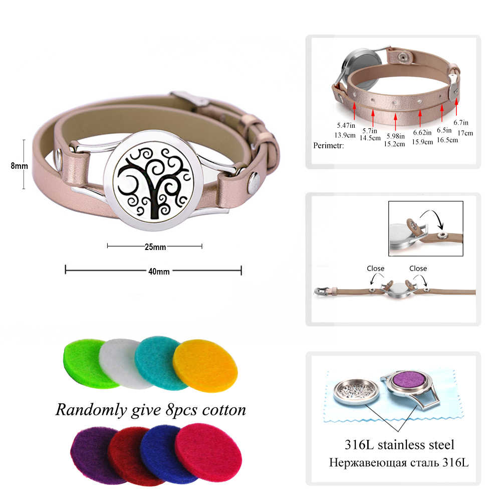 European and American fashion simple leather leather bracelet stainless steel Rose gold watch bracelet