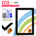 Srjtek For Asus Transformer Pad TF300T TF300 tf300tg G01 Version Black Digitizer Touch Screen Glass 69.10I21. G01