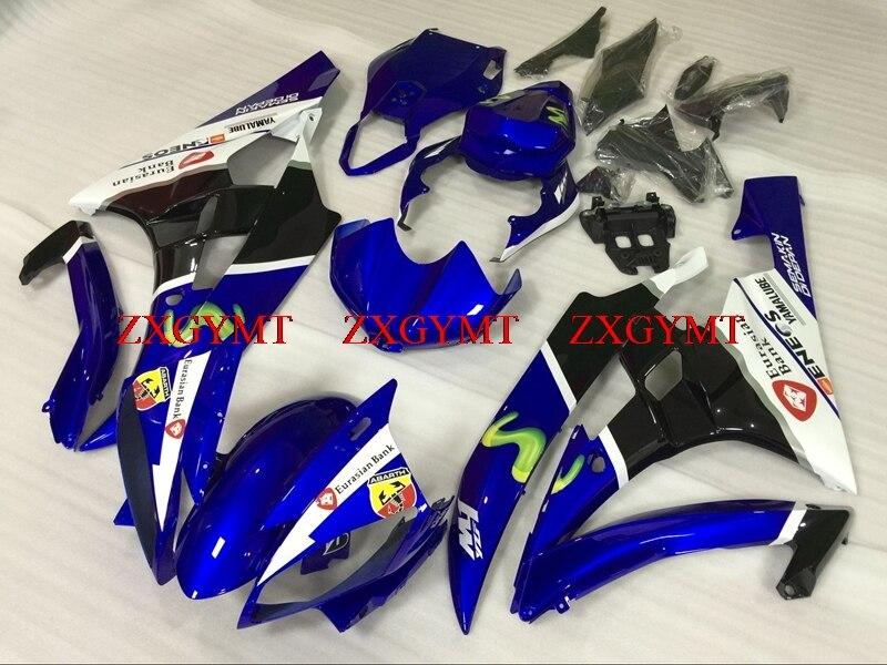 Fairing for YZF600 R6 2006 - 2007 Plastic Fairings YZF600 R6 06 Blue White Black Body Kits YZF600 R6 2007Fairing for YZF600 R6 2006 - 2007 Plastic Fairings YZF600 R6 06 Blue White Black Body Kits YZF600 R6 2007