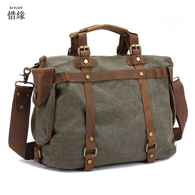Men Bags Vinatge Canvas Messenger Bags 2017 Designer Brand Men's Fashion Crossbody Shoulder Bag Solid Male Casual Travel Bag noulei ballscrew support bk17 bf17 c3 linear guide screw ball screws end supports cnc