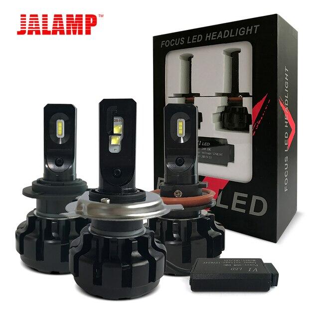 12V Mini H4 Led Auto Lamp 9005/HB3 9006/HB4 H1 H9 H8 H11 LED H7 H11 Car LED Headlight Bulb 60W 10000LM/set Light Bulbs For Cars