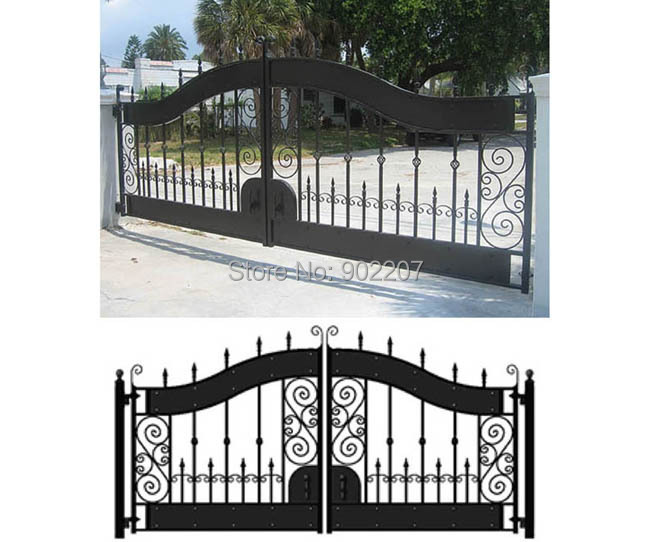 Steel Gate For Home. Steel Gate Design Photo. Modern Main Steel Gate ...