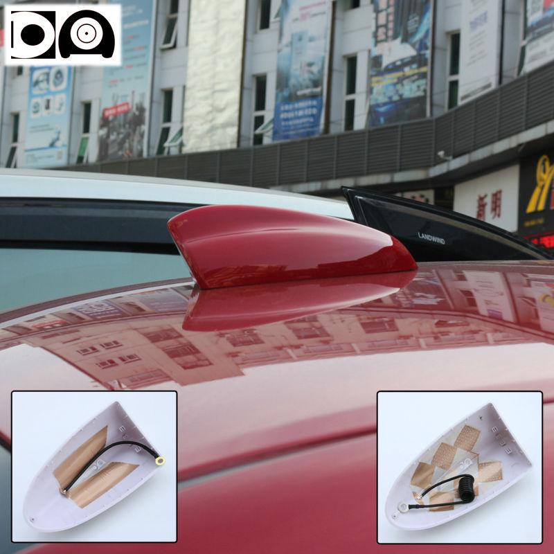 Süper köpekbalığı yüzgeci anten özel araba radyo antenleri ABS - Araba Parçaları - Fotoğraf 3