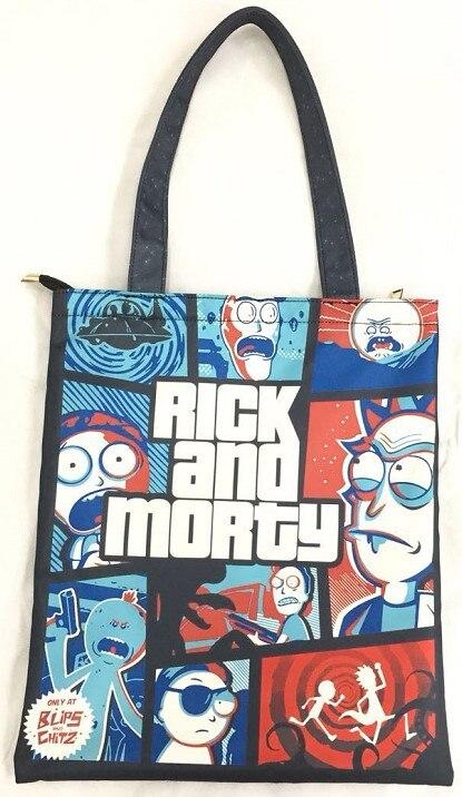 de diseño mujeres hombro y mano Morty bolso 2018 del compras Rick Zv0qB46