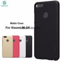 Xiaomi Mi A1 Case Mi A1 Matte Cover Mi 5X Case Nillkin Frosted Shield Hard Back Case For Xiaomi MiA1 / Mi 5X / Mi5X Gift Film