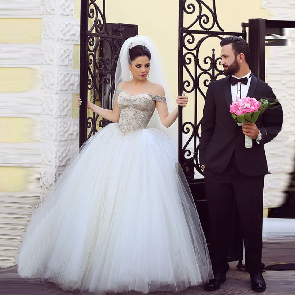 Shopping Sales Online Bridal Wedding Dresses Pearl Top Ball Gown ...