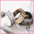 New arrive Stylish big Bangle Women's Men's Fish scale Design Alloy bracelets Cool Alloy Bracelets & Bangles #BR031