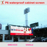 LED screen expert: P6 smd waterproof caibnet widely used in stages, sports events,outdoor advertisement ,shopping signs