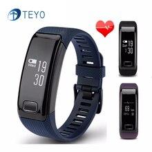 Teyo Новый Smartband C9 Bluetooth 4.0 Монитор Сердечного ритма Артериального Давления Браслет Браслет Pulsera Inteligente для Android и IOS