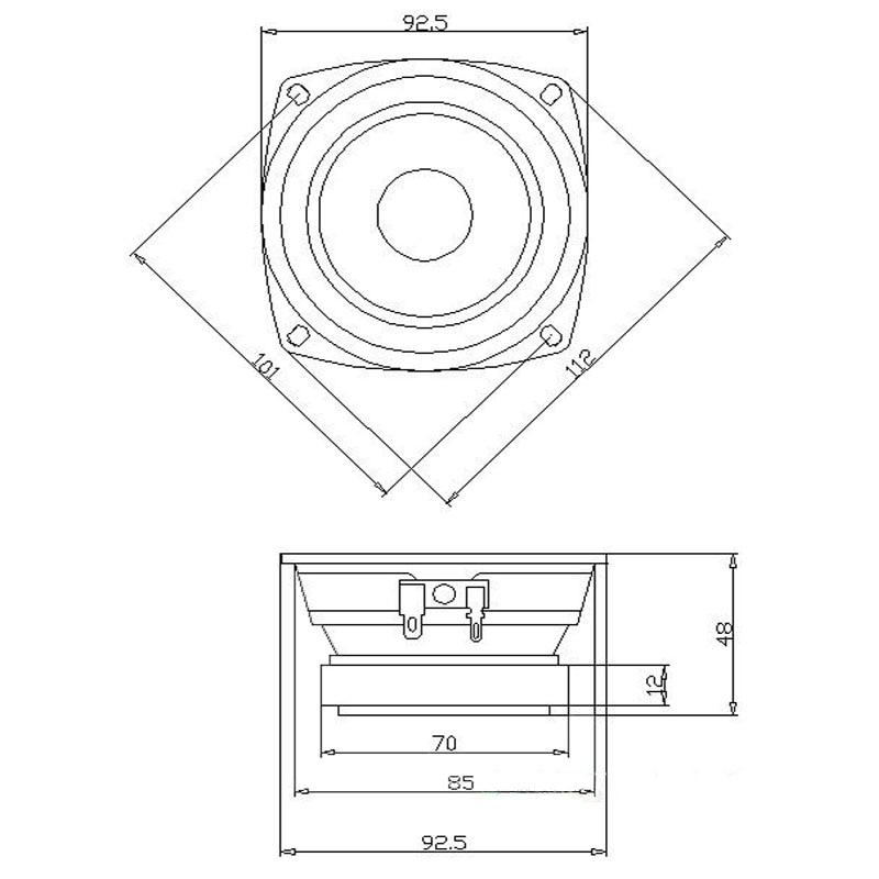 Audiobahn Speakers