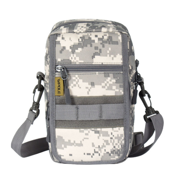Outdoor Men Molle Camouflage Sports Crossbody Bag Military Hiking Tactical Climbing Shoulder Army Camping