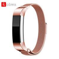 Fecho magnético Milanese Strap Watch Band Para Fitbit Alta Bandas Fit Bit Alta H Pulseiras de Substituição Inteligente Banda Acessório