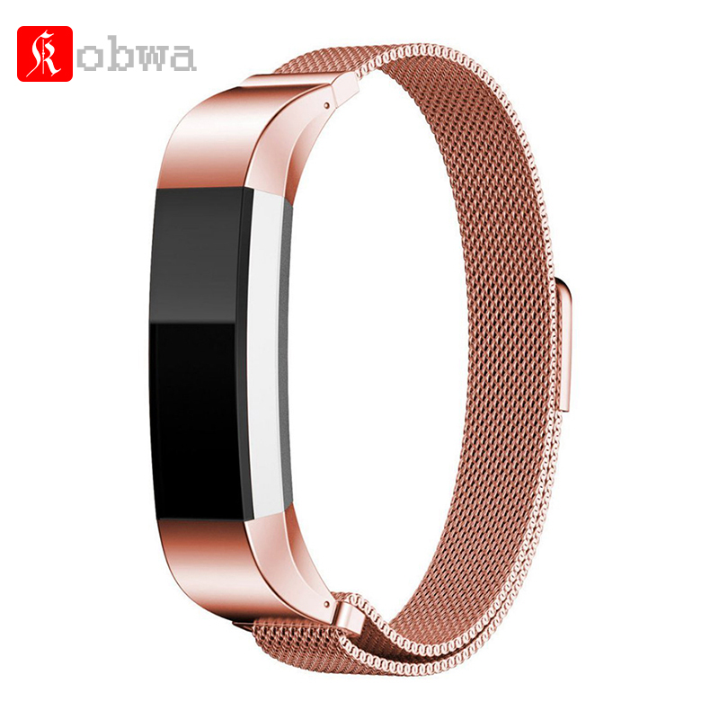 Magnetic Closure Milanese Strap Watch Band For Fitbit Alta Bands Fit Bit Alta HR Replacement Wristbands Smart Band Accessory