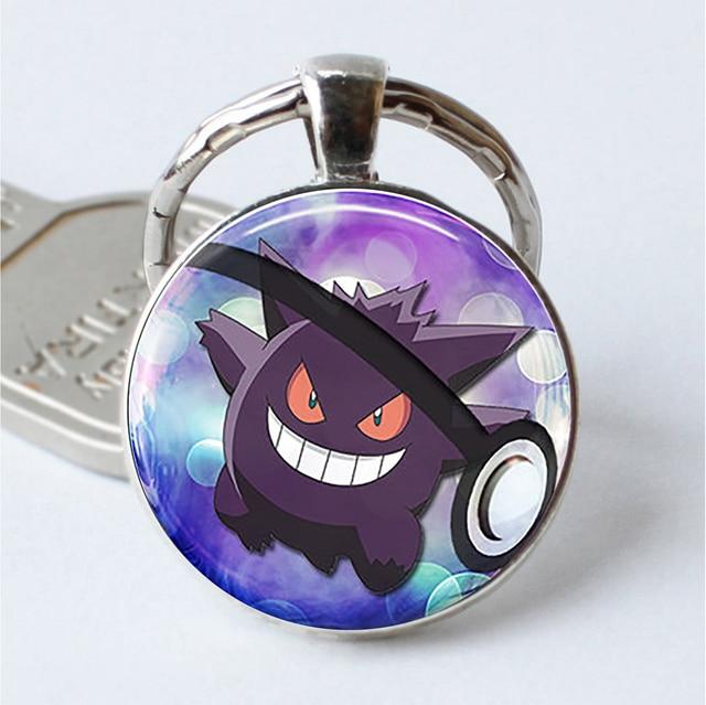 Pokemon Silver Plated Charmander Keychain
