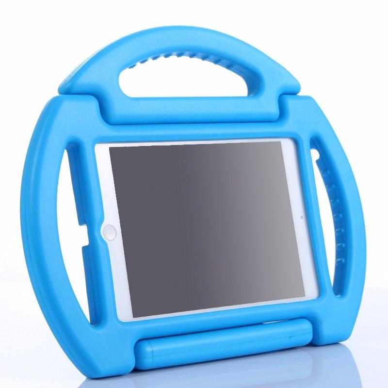 2017 New 3D Cartoon Wheel Kids Handle Cover For Apple Ipad 2 3 4 EVA Soft Shockproof Stand Holder Case For Ipad 234+Stylus+Film