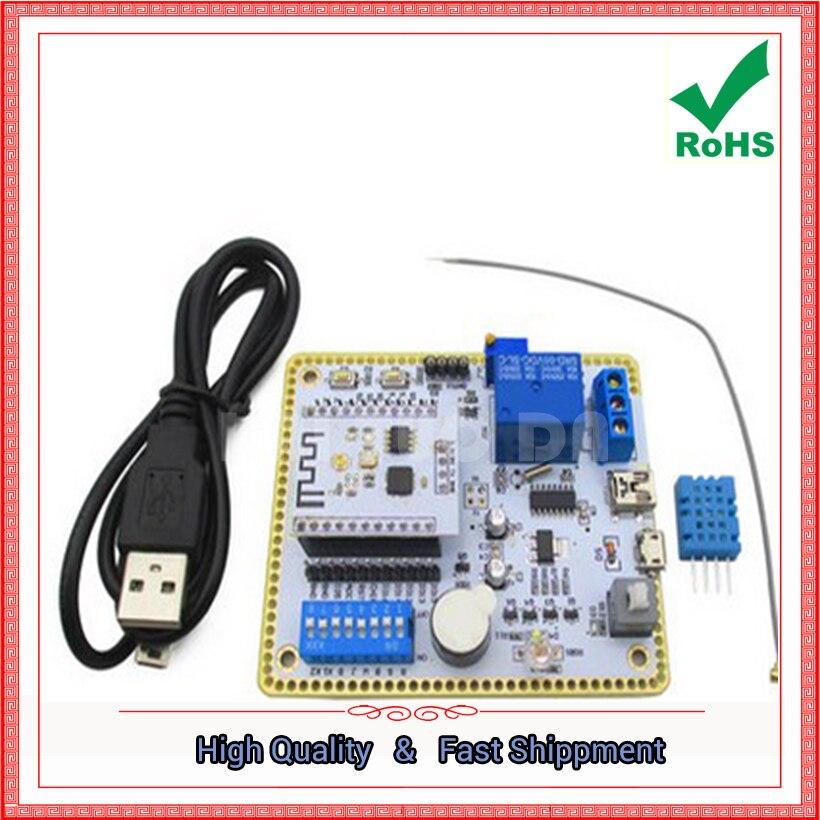 Free Shipping 1pcs ESP8266 serial port wifi module ESP8266 wireless development board development (D4B4)