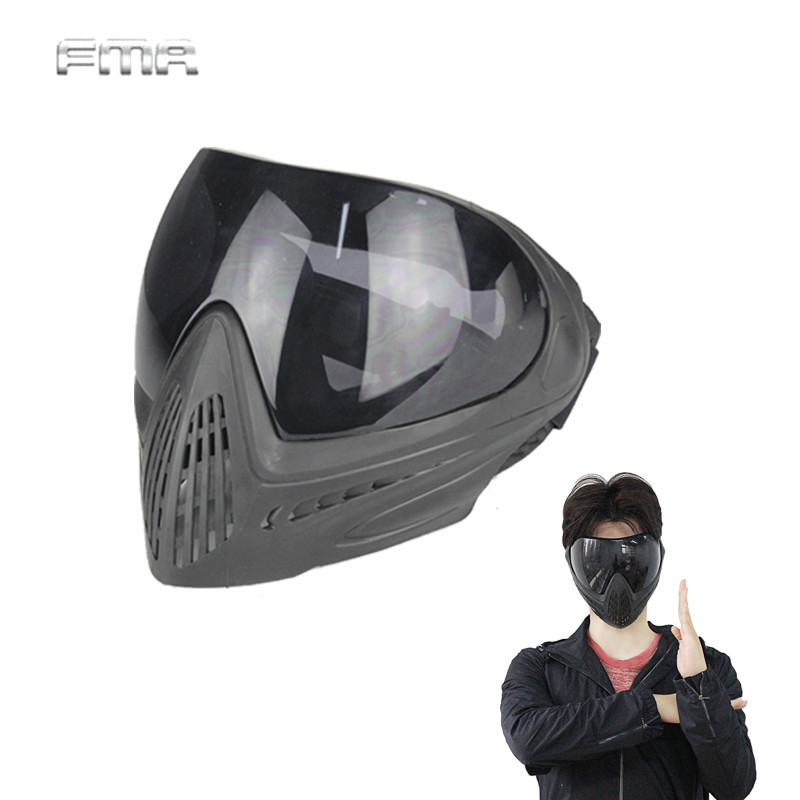 Tactical FMA F1 Goggle Full Face Mask Airsoft Anti-fog Protective Eyewear Outdoor Ski Glasses Gear Safety Guard Face Mask fma full founction pro