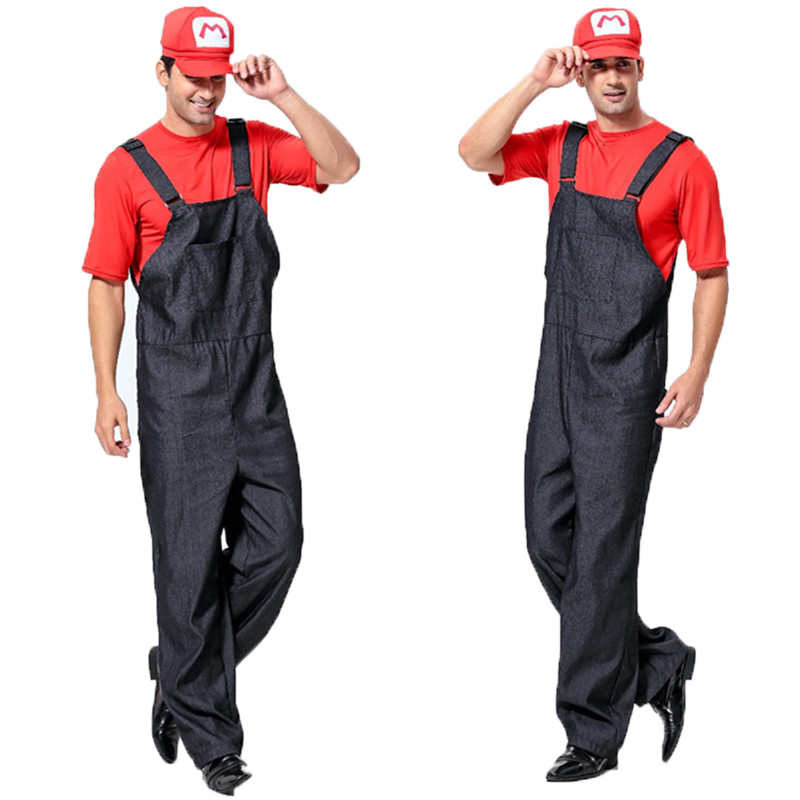 Popular Mens Mario Costume Buy Cheap Mens Mario Costume - Super Cool Halloween Costumes