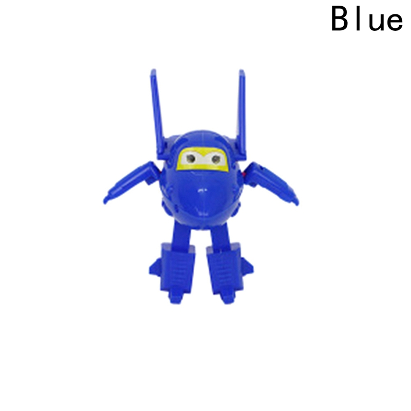 Hot Sale! Super Wings Mini Planes Toy ABS Deformation Airplane Robots Action Figure Boys Birthday Gift Superwings