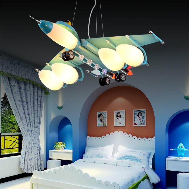 Aircraft Lights Pendant Lights Boys Bedroom Lights Bedroom
