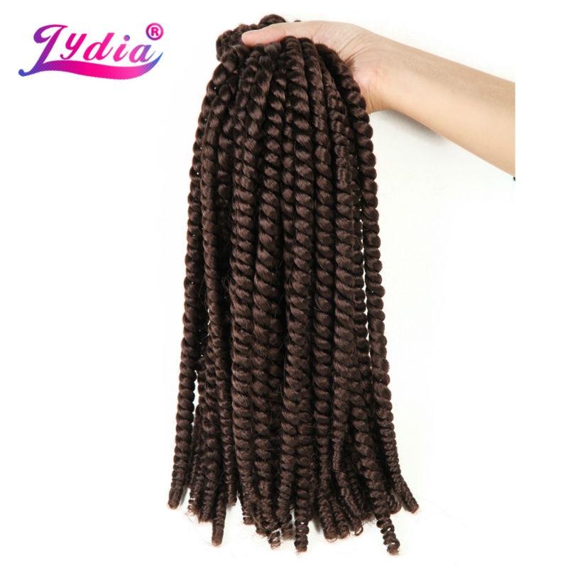 Lydia For Women Crochet Latch Hook Box Braid Hair 203pcslot Pure