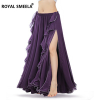 Free Shipping High Quality New Bellydancing Skirts Belly Dance Skirt Costume Training Dress Or Performance