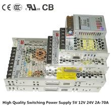 LED ultra-thin power supply DC5V 12V 24V transformer 25W/50W/100W/150W/200W/350W led Driver for strip