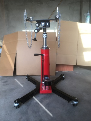 0.5T---1T  heavy duty Hydraulic Telescopic Transmission Jack auto engine motor lifting jack stand Tire Repair Tool