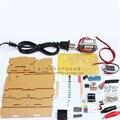 DIY kit de peças de eletrônica de potência de tensão ajustável LM317 e kit de treinamento eletrônico DIY multi função de produção de energia