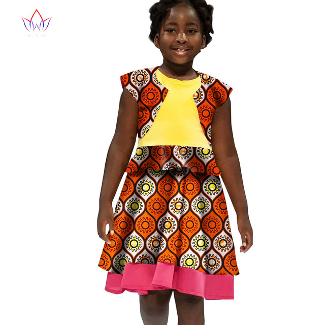 421bd312cb728 US $35.42 | African Women Clothing kids dashiki Traditional cotton Dresses  Matching Africa Print Dresses Children Summer none BRW WYT31-in Africa ...