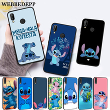 WEBBEDEPP Lilo Stitch fashion design Silicone Case for Huawei P8 Lite 2015 2017 P9 2016 Mimi P10 P20 Pro P Smart 2019 P30