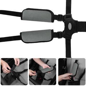 Image 2 - 2pcs Baby Children Safety Seat Belt Cover Car Accessories Shoulder Strap Cover Pads Safety Belt Harness Shoulder Protection