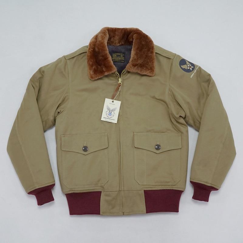 BOB DONG Repro Type B-10 Blouson Vintage Hommes L'US Air Force Vol Uniforme