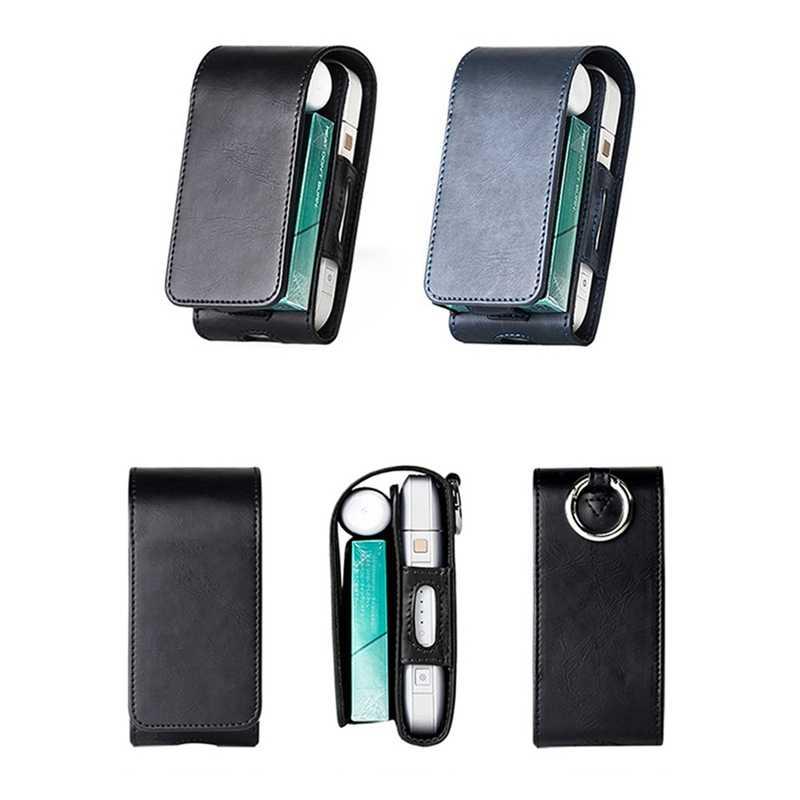 PU крышка сумка, кожаный чехол откидная крышка Отопление электронная сигарета переноски защитный для IQOS
