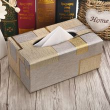 Высококачественная кожаная коробка для салфеток, прямоугольная коробка для салфеток и полотенец, чехол для салфеток для дома