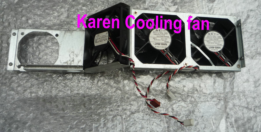NMB 3825 cooling fan with shelf