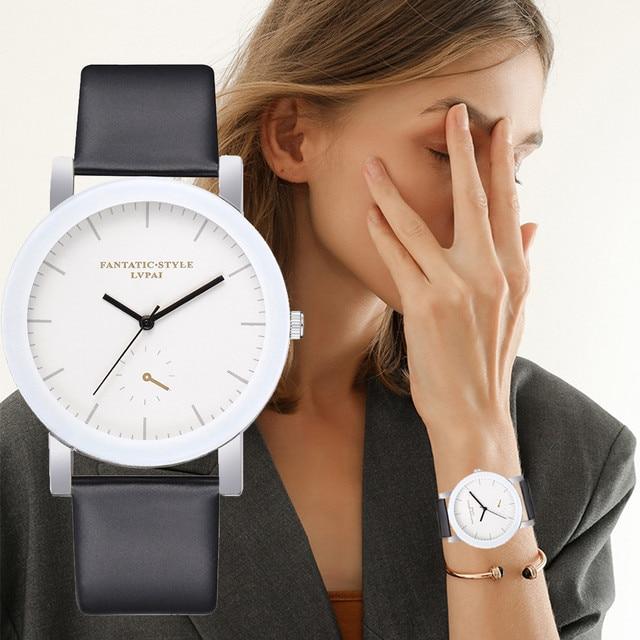 2019 New Lvpai Brand Quartz Watches For Women White Bracelet Watches Ladies Dres