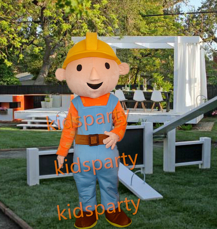 bob the builder mascot costume fursuit Patrol dog olaf tiger lion minion mascot bob Carnival Dress sport business costume-in Menu0027s Costumes from Novelty ... & bob the builder mascot costume fursuit Patrol dog olaf tiger lion ...