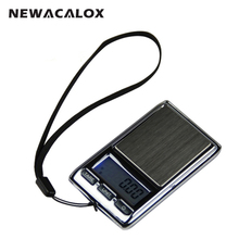 NEWACALOX 200g x 0 01g Mini Digital Scale for Gold Sterling Silver Diamond Scale Jewelry 0