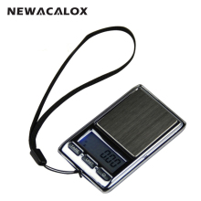 NEWACALOX 200g x 0.01g Mini Digital Scale for Gold Sterling Silver Diamond Scale Jewelry 0.01 Pocket Precision Electronic Scale