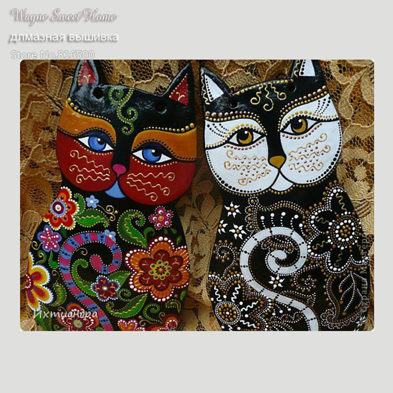 5D Diamond Embroidery Diy Diamond Painting Cat Pictures Diamond Mosaic Needlework Crafts Picture Home Decor Canvas Painting5D Diamond Embroidery Diy Diamond Painting Cat Pictures Diamond Mosaic Needlework Crafts Picture Home Decor Canvas Painting