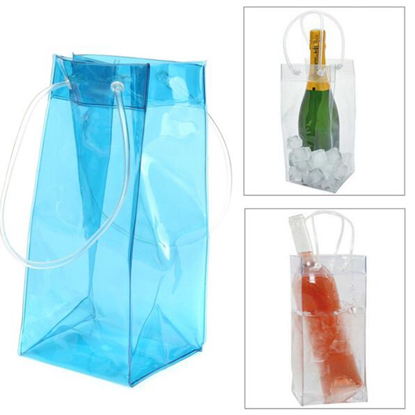Free Shipping 500pcs Wine Cooling Ice Bag Pvc Bottle Beer Holder Gift Bags In Other Bar Accessories From Home Garden On Aliexpress