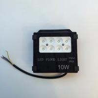 SMD3030 IP65 Waterproof Led Flood Light 10W Black Shell Garden Lamp Spotlight Reflector Project For